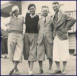 Golfers circa 1937